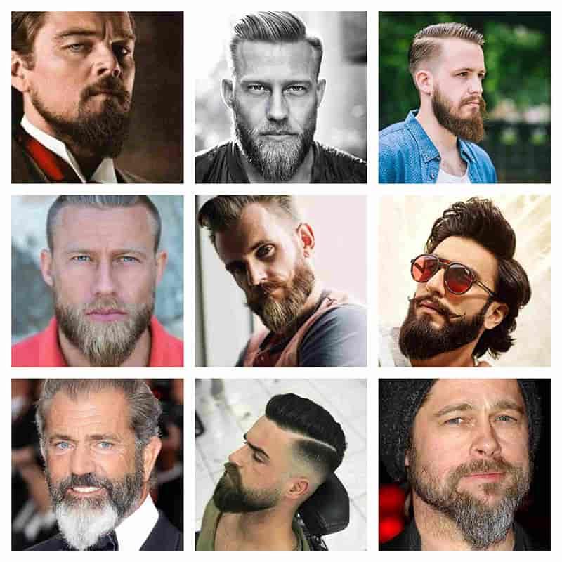 estilos hombres barba cola de pato