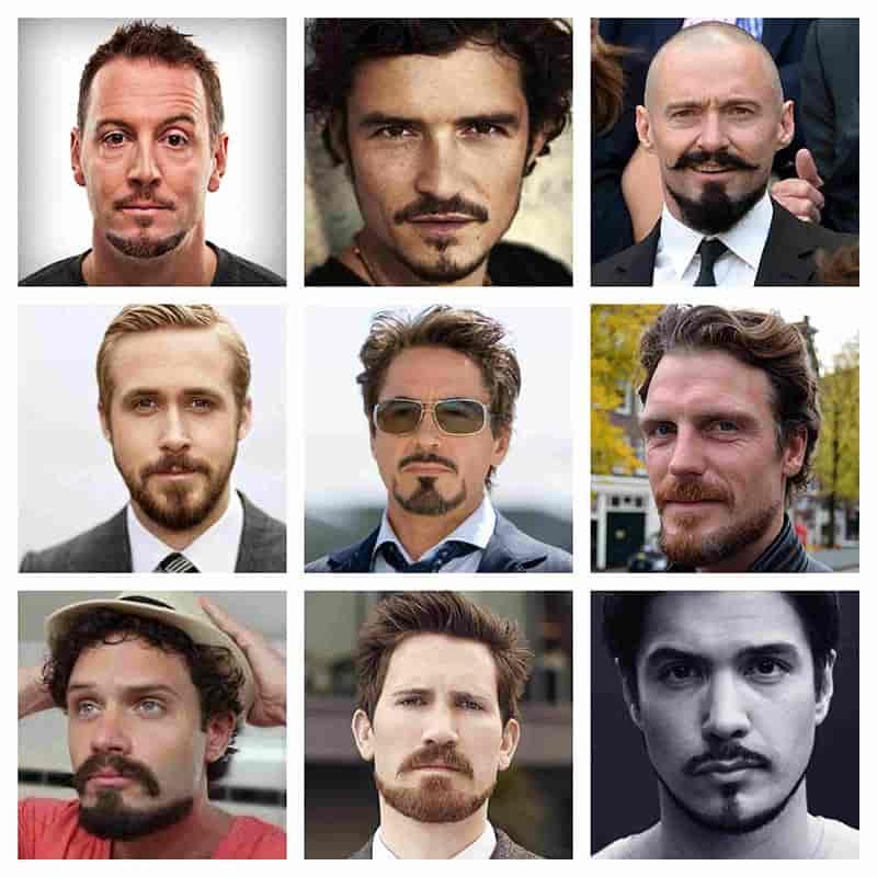 estilo barba de ancla para hombres