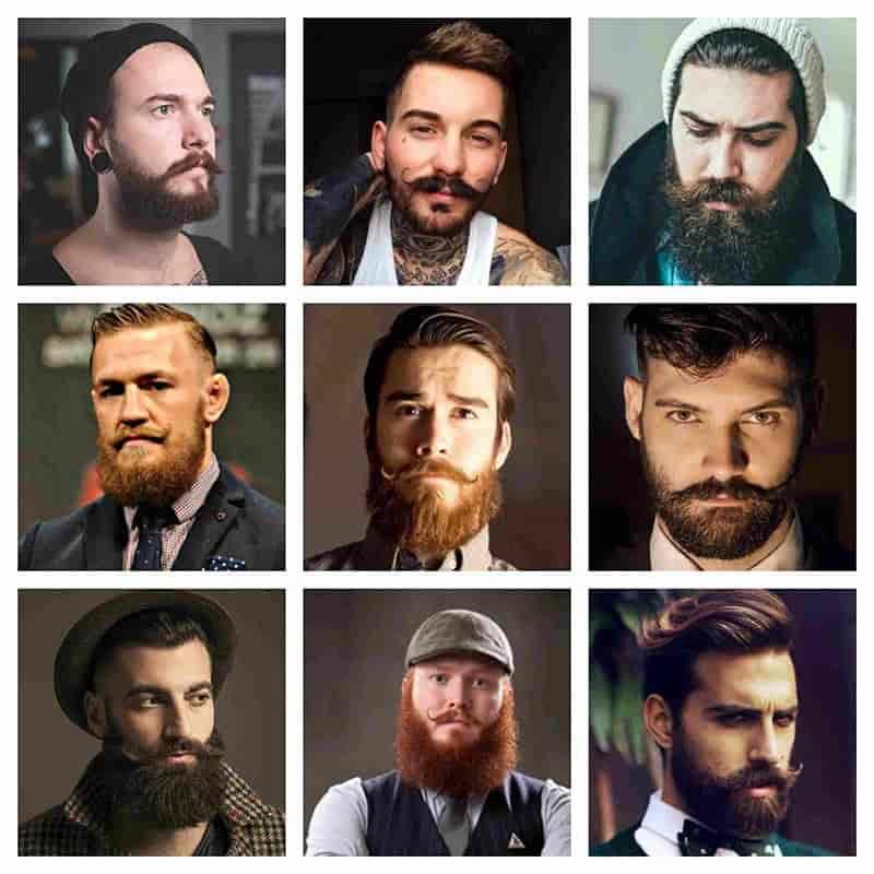 estilos de barba verdi
