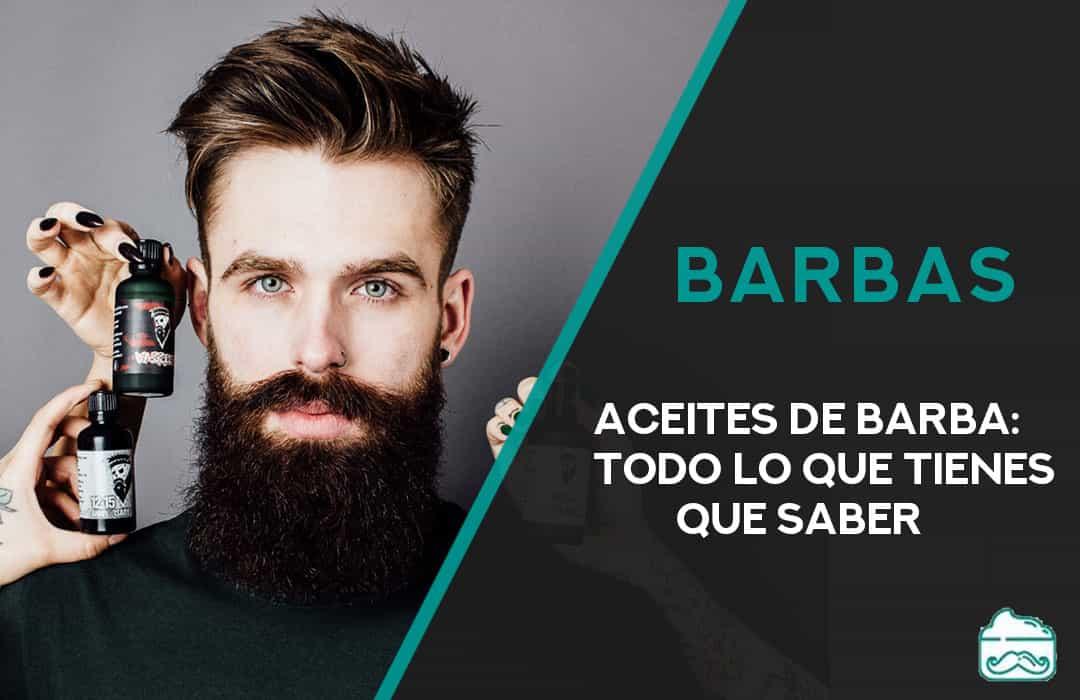 mejores aceites para la barba