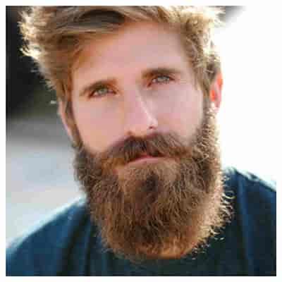 barba rostro ovalado