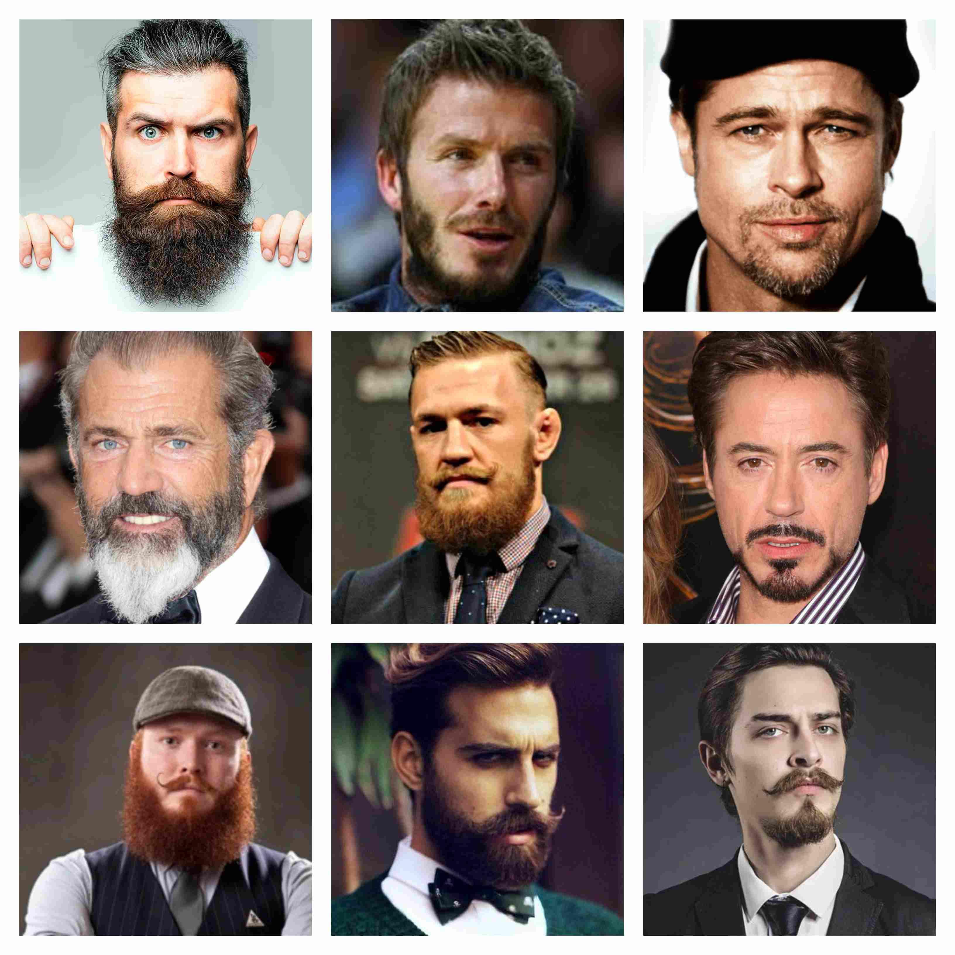 tipos de barbas hombres