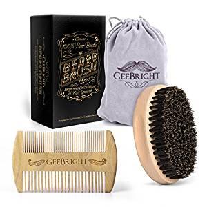 peine y cepillo para barbas geebright